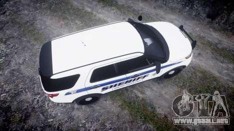 Ford Explorer Police Interceptor [ELS] slicktop para GTA 4 visión correcta