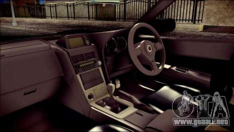 Nissan Skyline GTR V Spec II v2 para la visión correcta GTA San Andreas