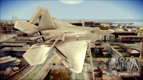 F-22 Gryphus, Falco and Antares para GTA San Andreas left