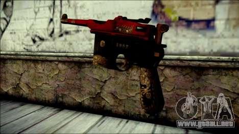 Mauser M1896 Royal Dragon CF para GTA San Andreas segunda pantalla