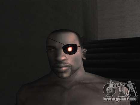 Las gafas nuevas para CJ para GTA San Andreas undécima de pantalla