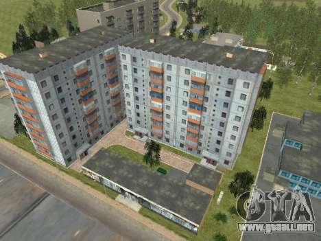 Prostokvashino para GTA Penal de Rusia beta 2 para GTA San Andreas sucesivamente de pantalla