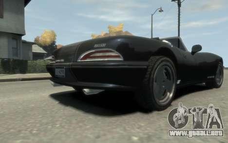 GTA 3 Bravado Banshee HD para GTA 4 vista interior
