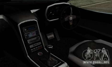 Mitsuoka Orochi Nude Top Roadster para la visión correcta GTA San Andreas