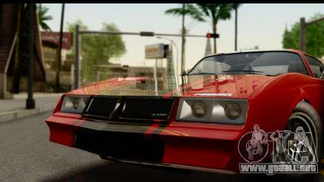 GTA 5 Imponte Phoenix para GTA San Andreas vista posterior izquierda