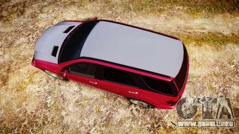GTA V Benefactor Serrano para GTA 4 visión correcta