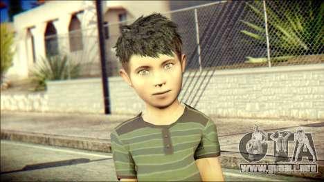 Dante Brother Child Skin para GTA San Andreas tercera pantalla