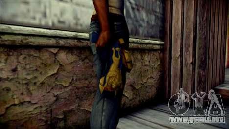Hyper Magnum Kamen Rider Beast para GTA San Andreas tercera pantalla