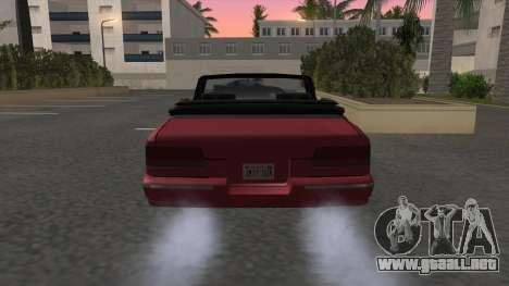 Premier Cabrio para GTA San Andreas vista posterior izquierda