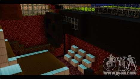 Minecraft Elegant para la visión correcta GTA San Andreas