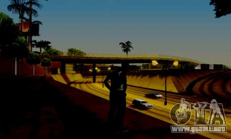 Light ENB Series v3.0 para GTA San Andreas quinta pantalla