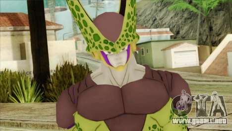 Dragon Ball Xenoverse Cell Perfect para GTA San Andreas tercera pantalla