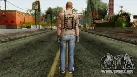 Officer from PMC para GTA San Andreas segunda pantalla