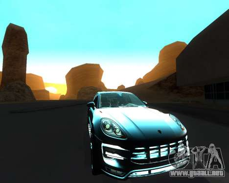 Porsche Macan Turbo para GTA San Andreas interior