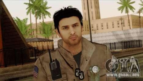Classic Alex Shepherd Skin para GTA San Andreas tercera pantalla