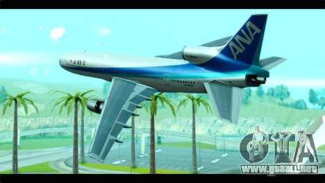 Lookheed L-1011 ANA para GTA San Andreas left