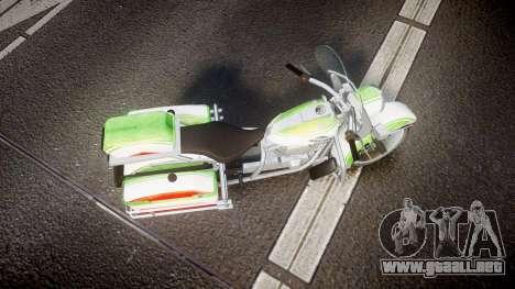 GTA V Western Motorcycle Company Sovereign IRN para GTA 4 visión correcta