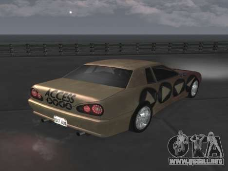 Elegy Paintjobs para GTA San Andreas left