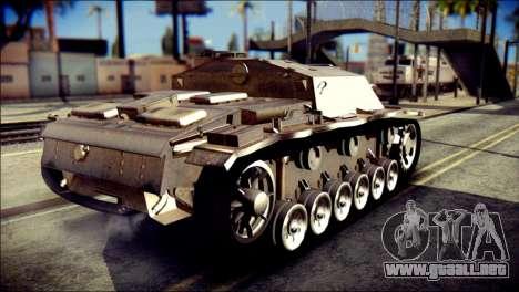 StuG III Ausf. G para GTA San Andreas left