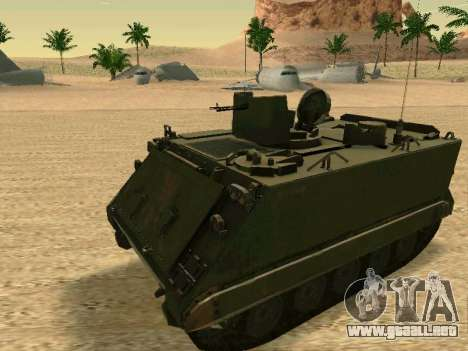 El M113 Blindados De Transporte De Personal para GTA San Andreas left