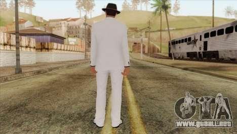 GTA 5 Online Skin 1 para GTA San Andreas segunda pantalla