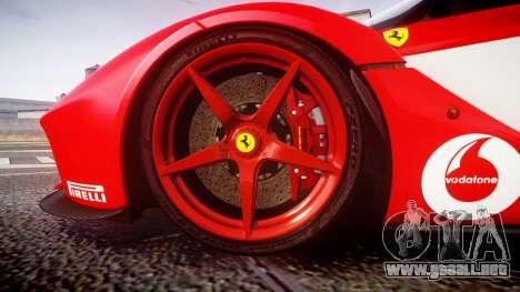 Ferrari LaFerrari 2013 HQ [EPM] PJ3 para GTA 4 vista hacia atrás
