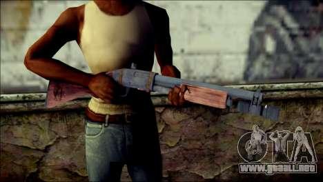 Rumble 6 Chromegun para GTA San Andreas tercera pantalla