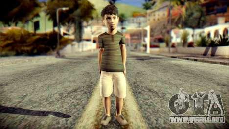 Dante Brother Child Skin para GTA San Andreas