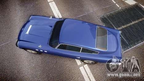GTA V Dewbauchee JB 700 para GTA 4 visión correcta