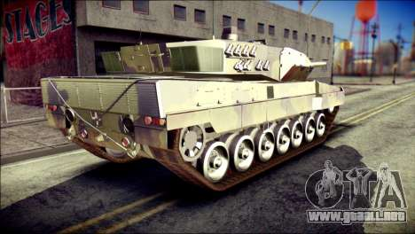 Leopard 2A6 para GTA San Andreas left