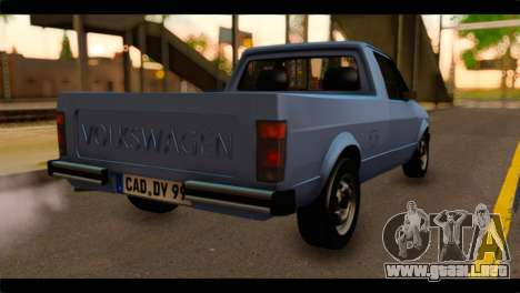 Volkswagen Caddy Mk1 Stock para GTA San Andreas left