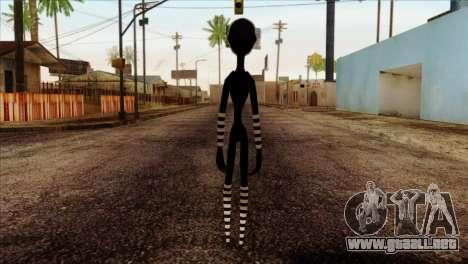 Puppet from Five Nights at Freddy 2 para GTA San Andreas segunda pantalla