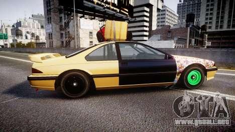 Vapid Fortune Drift para GTA 4 left