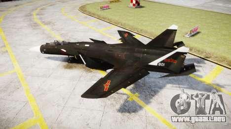 El Su-47 Berkut para GTA 4 left