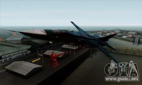 SU-24MP Fencer Blue Sea Camo para GTA San Andreas