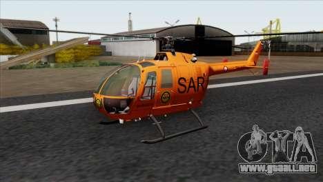 MBB BO-105 Basarnas para GTA San Andreas