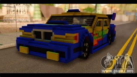 Minecraft Elegant para GTA San Andreas