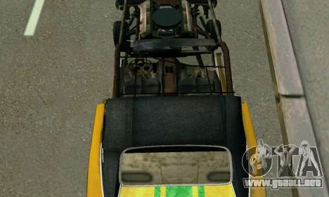 Dodge Charger RT HL2 EP2 para la vista superior GTA San Andreas