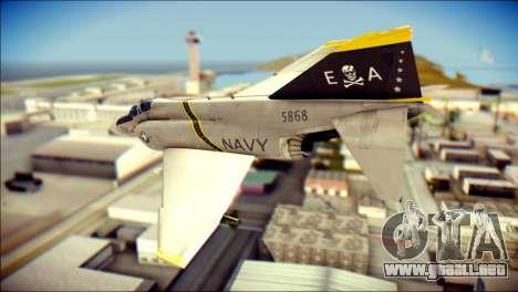 McDonnell Douglas F-4B Phantom II para GTA San Andreas left