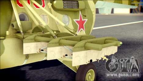 Mi-8 Hip para la visión correcta GTA San Andreas