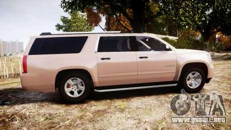 Chevrolet Suburban LTZ 2015 para GTA 4 left