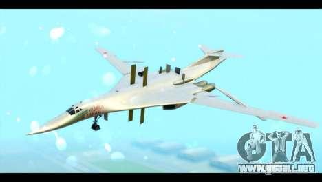 TU-160 Blackjack para GTA San Andreas