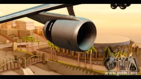 Lookheed L-1011 Air Canada para la visión correcta GTA San Andreas