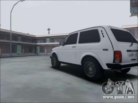 Lada Niva para visión interna GTA San Andreas