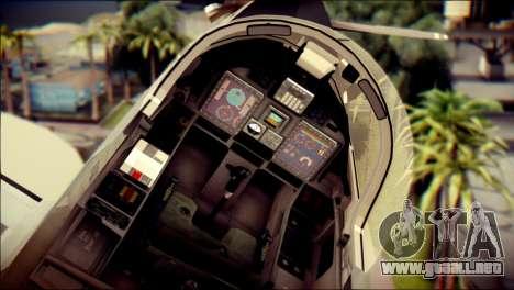 EMB 314 Super Tucano Colombian Air Force para la visión correcta GTA San Andreas