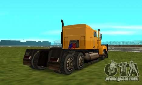 PS2 RoadTrain para visión interna GTA San Andreas