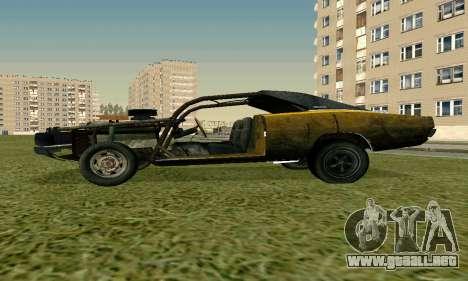 Dodge Charger RT HL2 EP2 para GTA San Andreas vista posterior izquierda