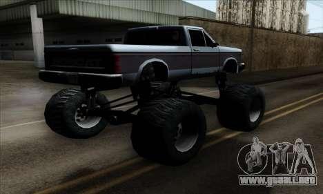 Monster Bobcat para GTA San Andreas left