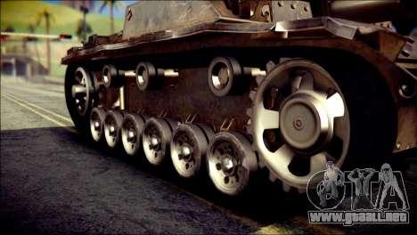 StuG III Ausf. G para la visión correcta GTA San Andreas