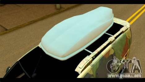 Mercedes-Benz Citan Stance para la visión correcta GTA San Andreas